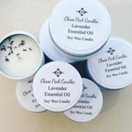 Lavender Essential Oil 4oz Matte White Travel Tin