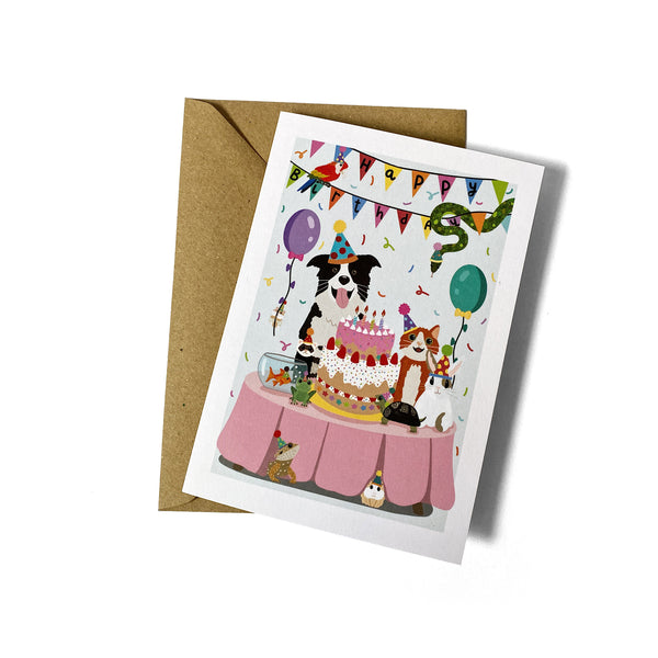 Pet Birthday Card