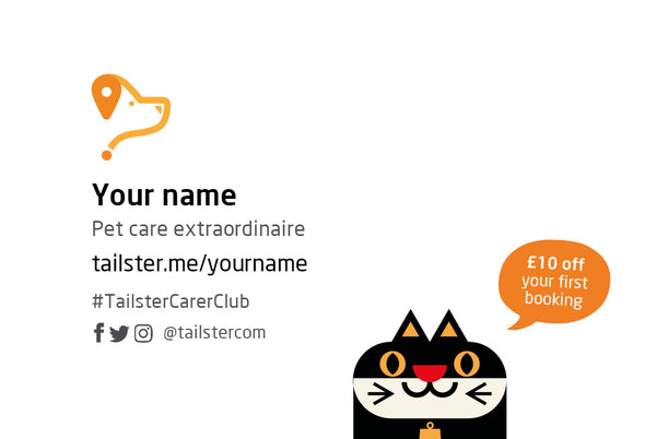 Tailster.me Business Cards