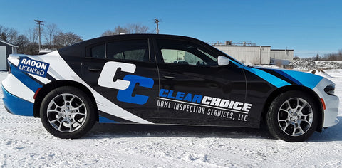 clear choice car wrap st cloud minnesota mustang signs and graphics