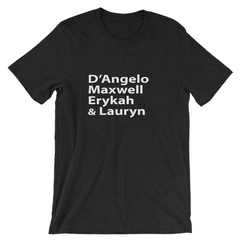 The Legends: Neo Soul Short-Sleeve Unisex T-Shirt