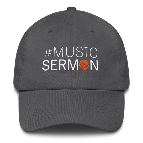 #MusicSermon Cotton Cap