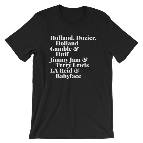 The Legends: Writer/Producers Short-Sleeve Unisex T-Shirt