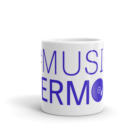 #MusicSermon Mug Royal Blue