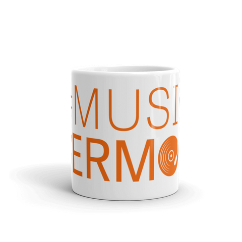 #MusicSermon Mug Orange