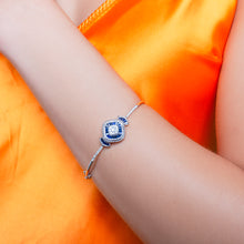 Load image into Gallery viewer, Baguette Sapphire Bracelet