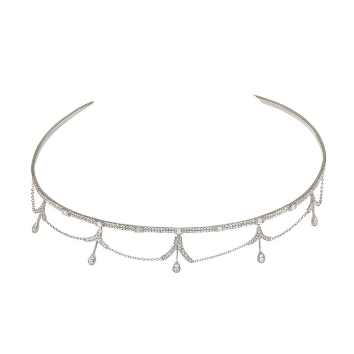 Chandelier Diamond Choker/Necklace