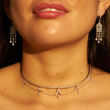 Load image into Gallery viewer, Chandelier Diamond Choker/Necklace