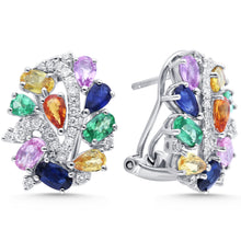 Load image into Gallery viewer, Rainbow Sapphire Earring