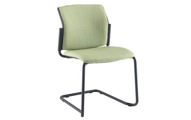 Santana Cantilever Chair Fully Upholstered