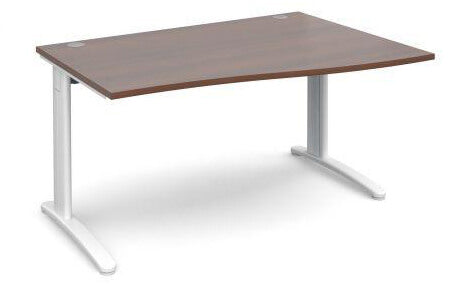 TR10 Right Hand Wave Desk