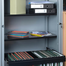 Load image into Gallery viewer, Bisley systems storage tambour cupboard