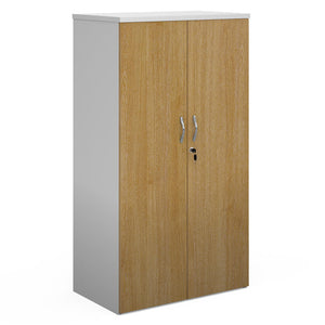 Duo double door cupboard