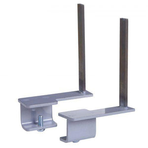 Aluminium framed screen brackets - back (pair) Screens