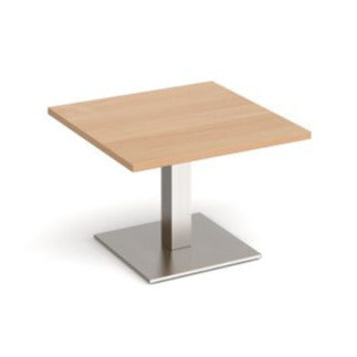 Brescia square coffee table with flat square base Tables