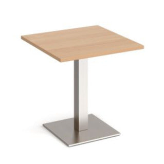 Brescia square dining table with flat square base Tables