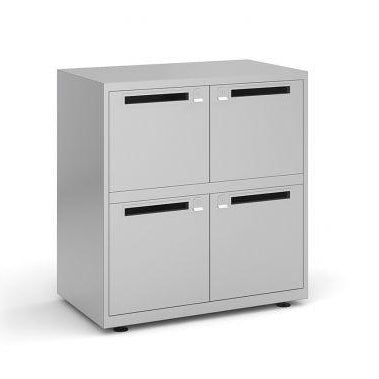 Bisley lodges with letterbox Steel Storage