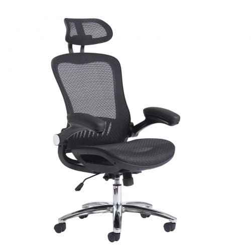 Curva high back mesh chair