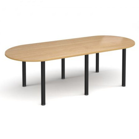 Radial end meeting table with 6 radial legs Tables