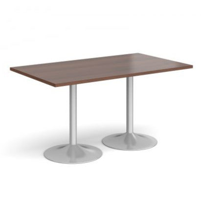 Genoa rectangular dining table with trumpet base Tables