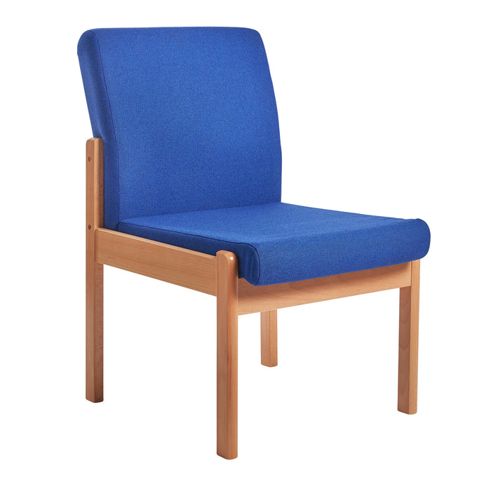 Meavy modular beech wooden frame single chair Reception & Soft Seating