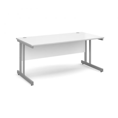 Momento straight desk 800mm deep Desking