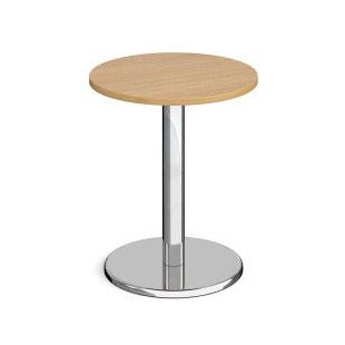 Pisa circular dining table with round base Tables