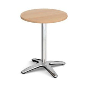 Roma circular dining table with 4 leg base Tables
