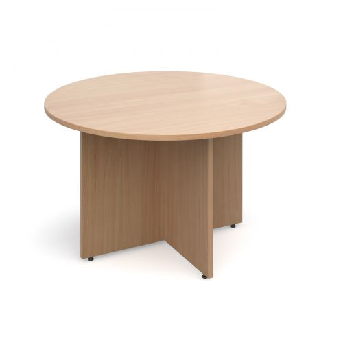 Arrow head leg circular meeting table Tables