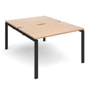 Adapt II sliding top B2B desks 1600mm deep Desking