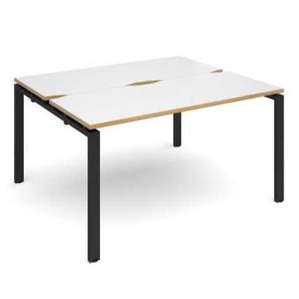 Adapt II sliding top B2B desks 1200mm deep Desking