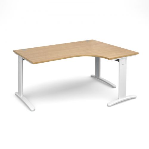 TR10 deluxe right hand ergonomic desk Desking