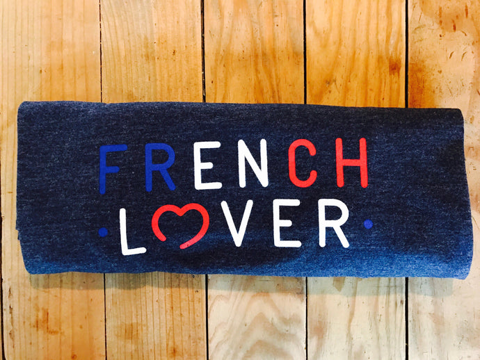 T-SHIRT 'FRENCH LOVER' (LUI)