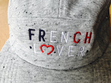 Charger l'image dans la galerie, CASQUETTE 'FRENCH LOVER' GREY DENIM