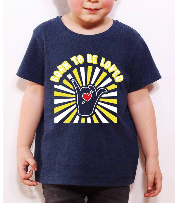 TSHIRT KIDS ´BORN TO BE LOVED