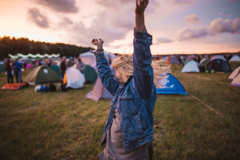 Ban single use festival tents
