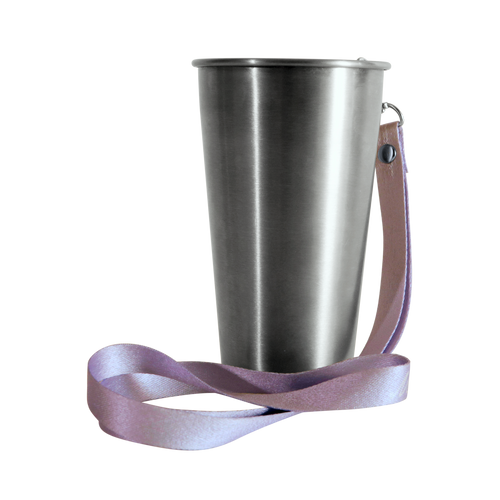 MedoCup Purple Rain reusable steel cup
