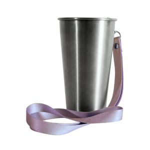 MedoCup Purple Rain reusable steel pint cup