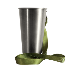 MedoCup Little Green reusable steel cup