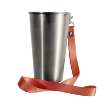 Load image into Gallery viewer, MedoCup Waterloo Sunset reusable steel pint cup