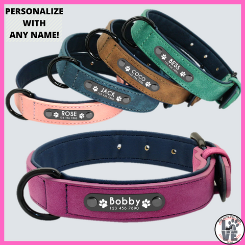 forlovefordogs collar dogs dog for love