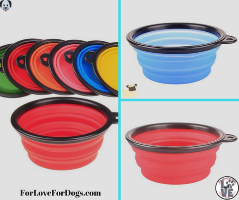 collasible bowl for dogs forlovefordogs for love for dogs pets pet cats cat jewelry and much more