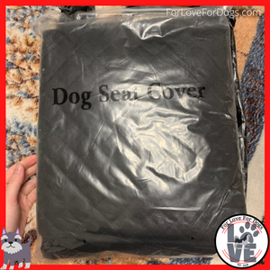 FLFD - Pet Car Seat Cover Waterproof and Cushion Protector with Zipper and Pockets