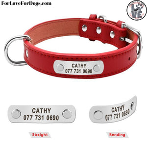 FLFD - Customizable Leather Collar