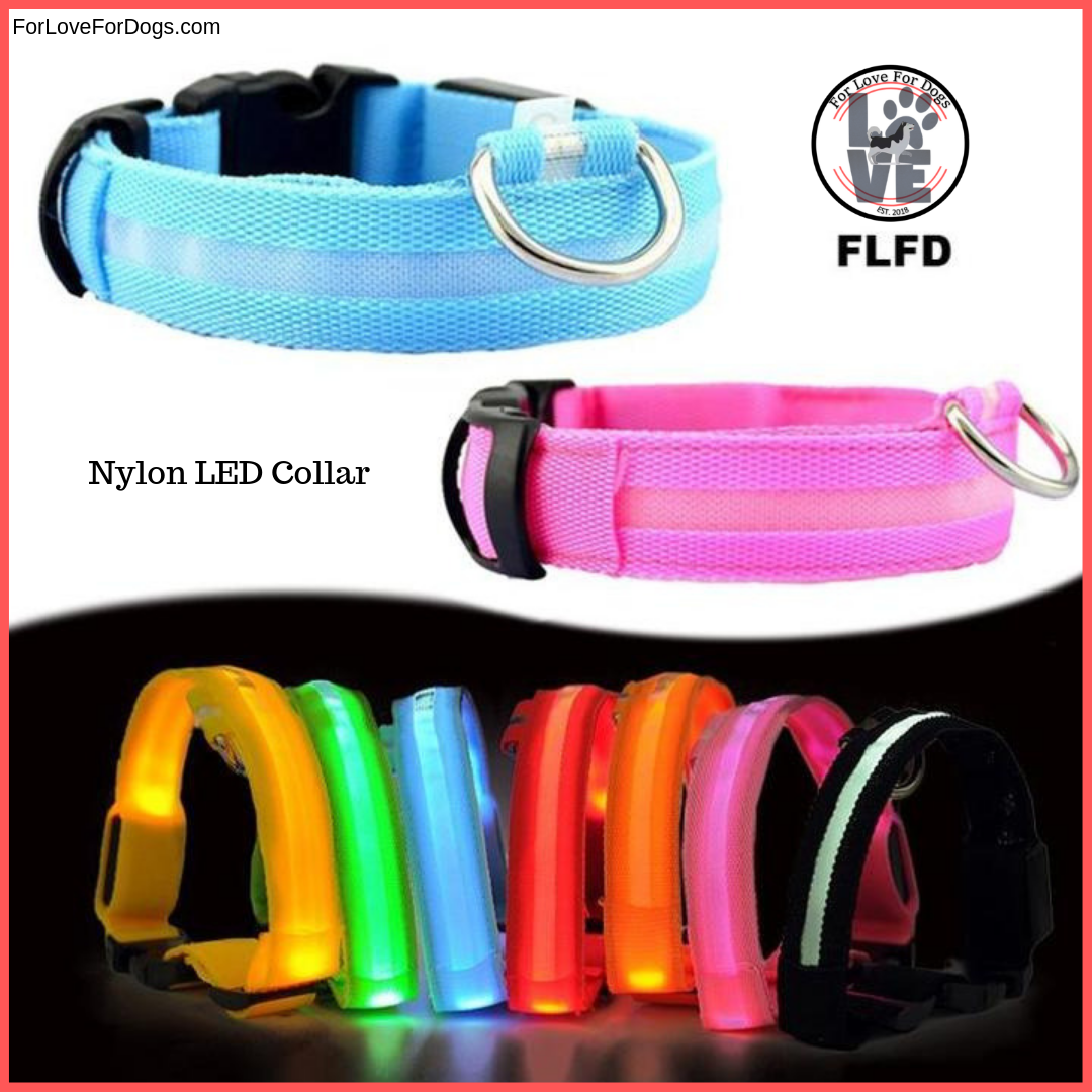 FLFD - Nylon LED Pet Collar