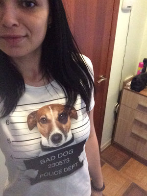 FLFD - Bad Dog Design T-Shirt Women