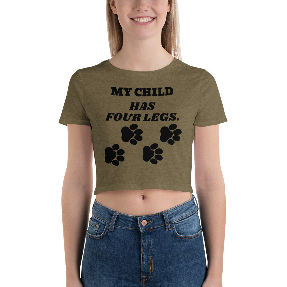 FLFD - My Child Has Four Legs Crop Top