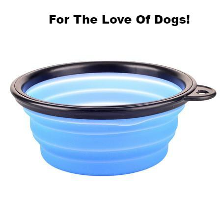 FLFD - New Collapsible Bowl Candy Color for Outdoor Travel