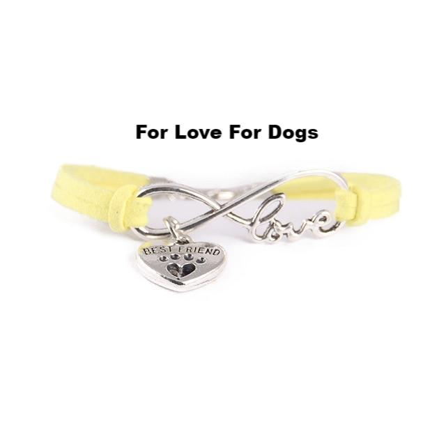 FLFD - Simple Infinity Love Dog Paw