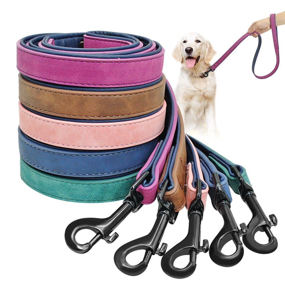 FLFD - Premium Leather Dog Leash